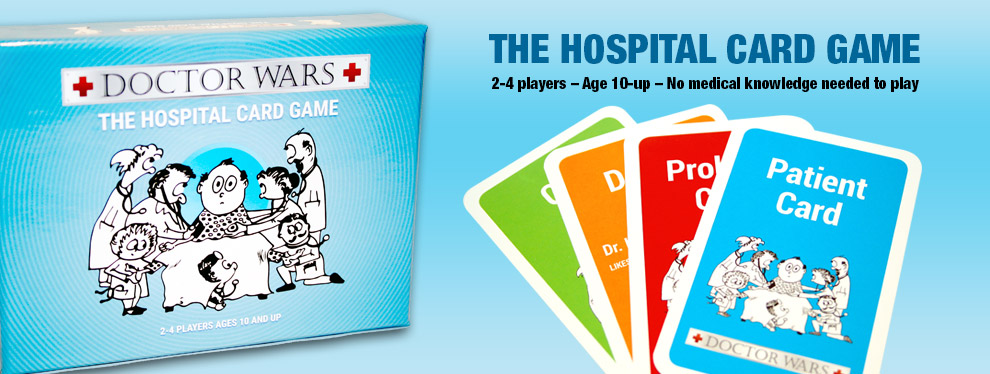 Doctor Wars The Hospital Strategy card Game