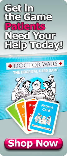 Doctor Wars The Hospital Strategy Board Game